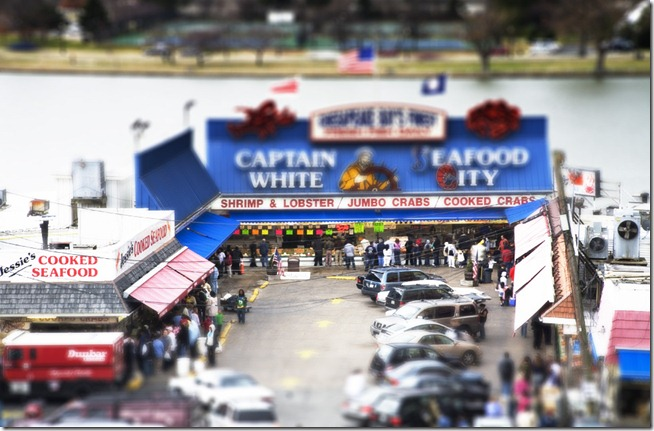 Maine Ave Fish Market Tilt and Shift 2