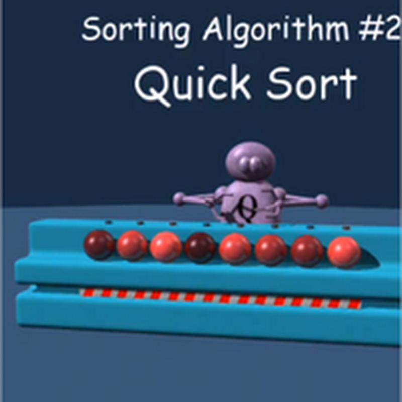 Videos de algoritmos de ordenamiento muy curiosos
