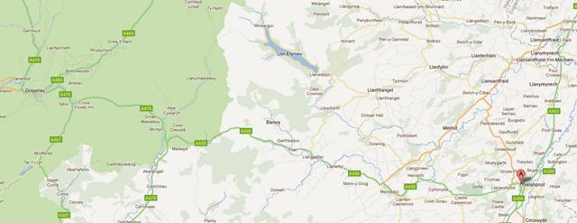 Welshpool , Lake Vyrnwy - Llanhymynech