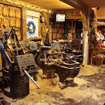 inside the clog factory in Zaandam, Noord Holland, Netherlands