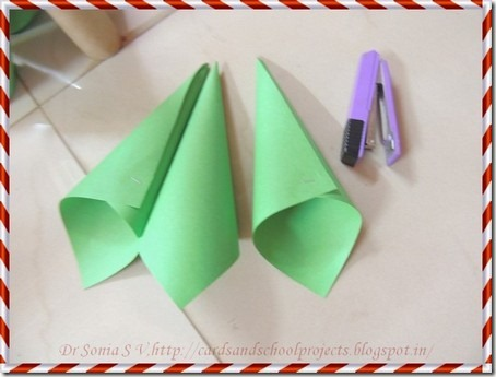 Paper Christmas tree 6