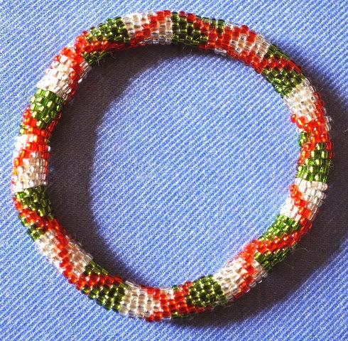 Glass Bead Braceclets