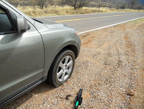 7. flat tire-kab