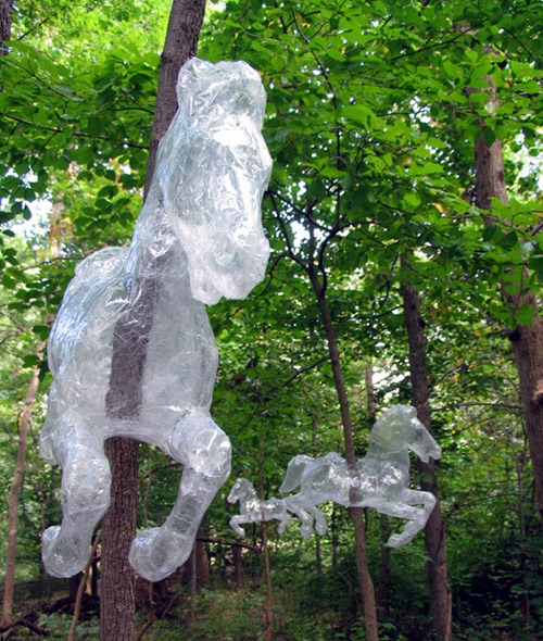 Esculturas de plástico 01