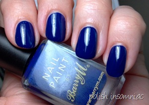 Barry M Indigo 2