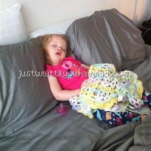 Sleeping Tillie
