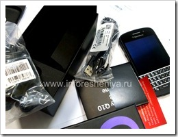 04 Комплектация BlackBerry Q10
