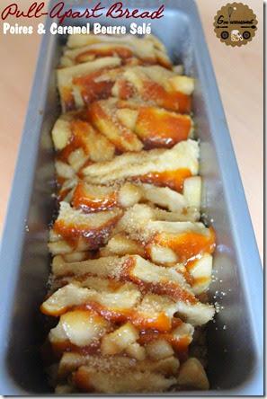 Pull-Apart Bread Poires & Caramel Beurre Salé 2