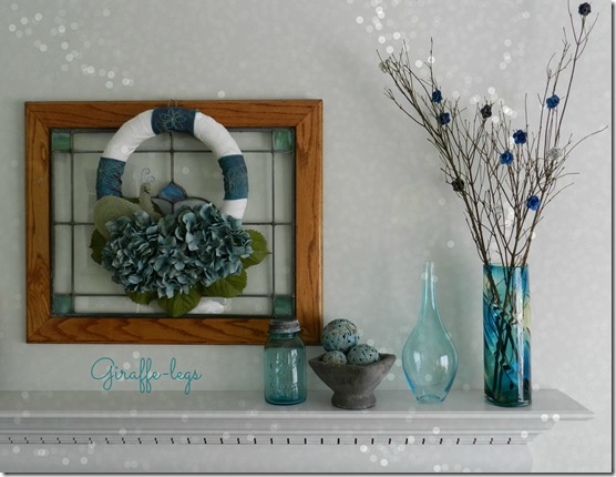 wreath blue