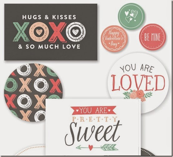 san valentino - carte tag gratis - free download valentine papers - scrapbooking 2