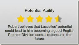 Lascelles has potential