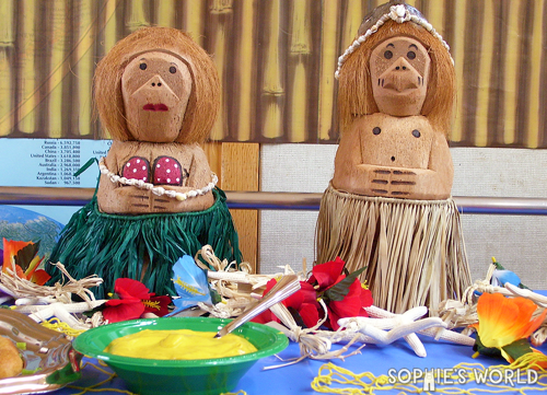 Monkey party decor 02