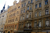 The Jewish Quarter has many beautiful Art Nouveau and Baroque buildings