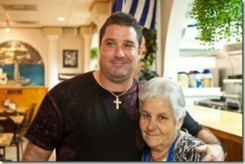 michael and mama