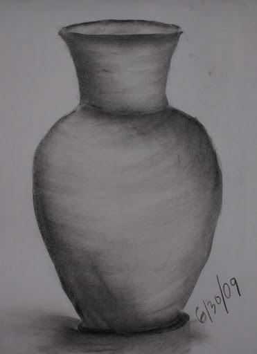2009 Class 1: charcoal on newsprint