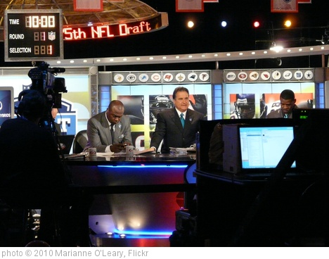'NFL Network Set for NFL Draft 2010' photo (c) 2010, Marianne O'Leary - license: http://creativecommons.org/licenses/by/2.0/