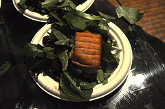 image of Salmon on Field Greens, from Widmer Brothers & DRAFT Magazine's Explore your Craft, courtesy of our Flickr page