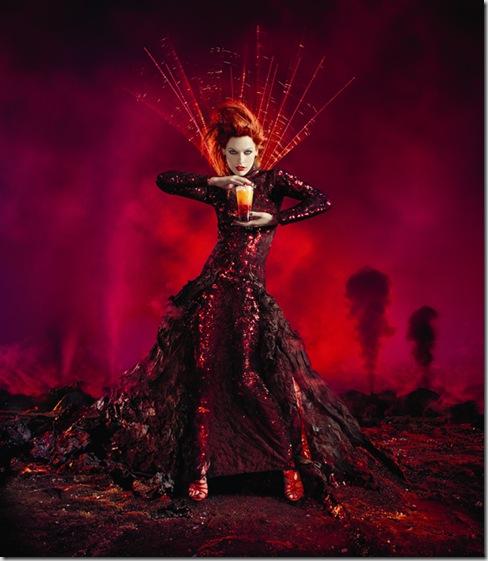 Star: Milla Jovovich. Photographer: Dimitri Daniloff.