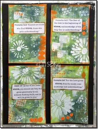 Wisdom Scripture Cards Glory ArtSC 4