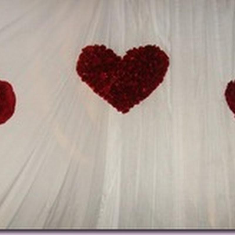 Decoração Dia Dos Namorados Com Papel Crepom