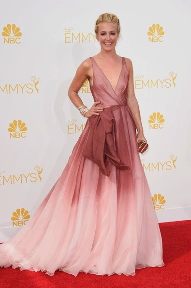 Cat Deeley attends the 66th Annual Primetime Emmy Awards