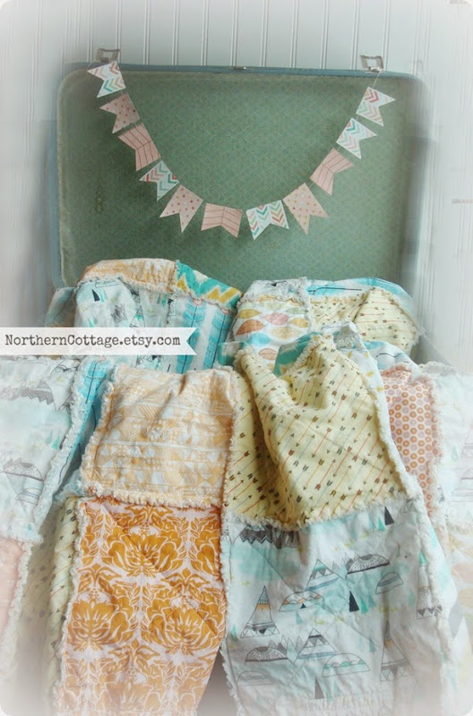 Custom Cozy Quilts {NorthernCottage}