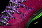 nike lebron 10 low gr purple neon green 1 11 Release Reminder: NIKE LEBRON X LOW Raspberry (579765 601)