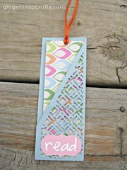 pocket bookmark blue