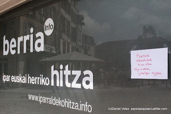 Journaliste à Berria Txato manquera au Petit Bayonne