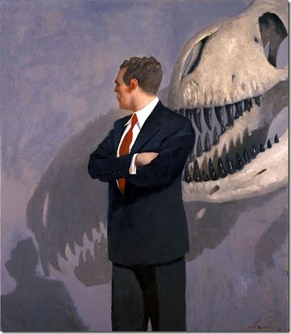 Julio Larraz -The Bone Collector, 2006