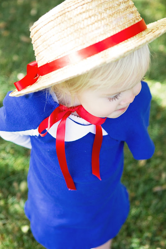 DIY Madeline Halloween Costume, Toddler Costumes, Madeline Dress Up, Madeline Dress