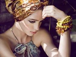 Como usar lenços na cabeça: Turbantes
