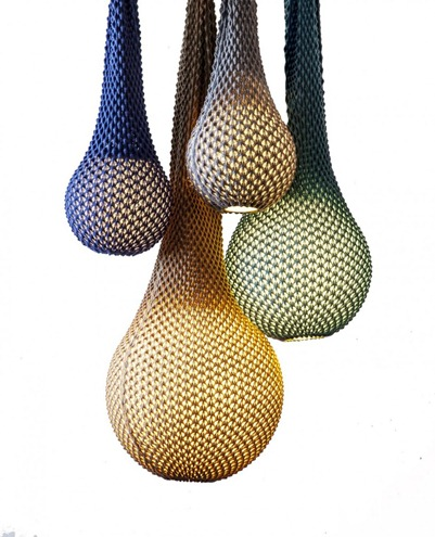 knitted lighting contemporary