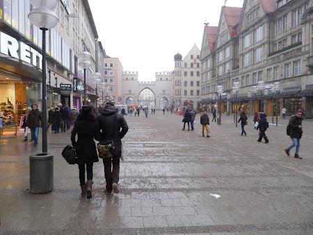 Zona pedestra Munchen