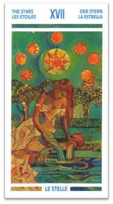 La Estrella. Tarot de Cristal