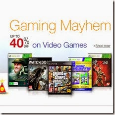 AMazon: Buy Video Games upto 98% off from Rs. 79