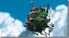 Howls Moving Castle Flying Castle