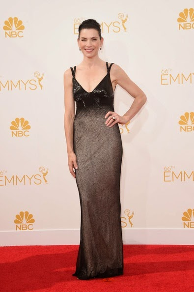 Julianna Margulies attends the 66th Annual Primetime Emmy Awards