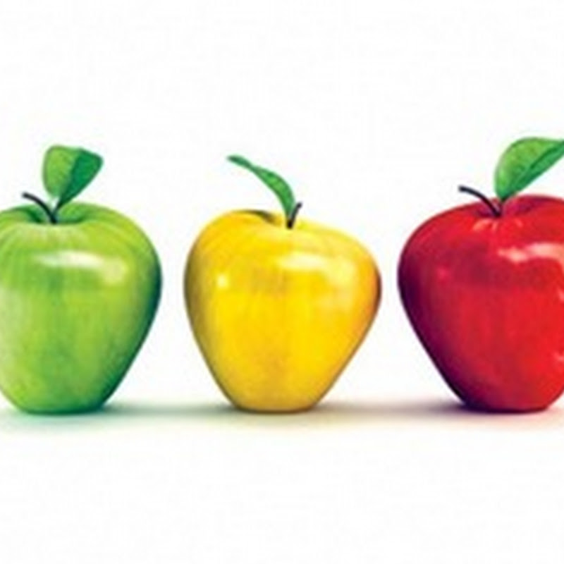 ايهما افضل التفاح الاخضر ام الاحمر؟ وأيهما أكثر فائدة ؟