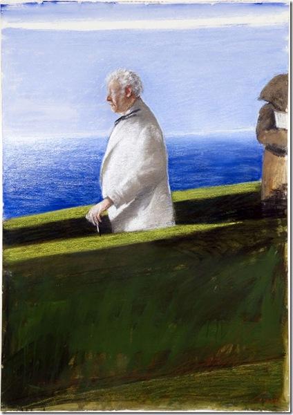Julio Larraz -A Walk with the Poet