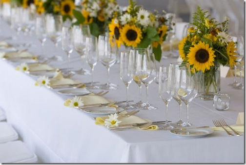 sunflower-table