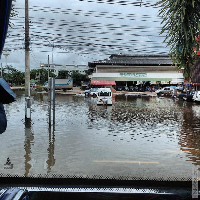 8. Сезон дождей. Таиланд 2555. Thailand