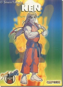 Ken 1 - Card Street Fighter Zero 2