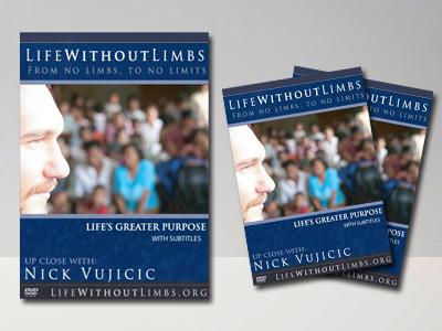 EL GRAN PROPÓSITO DE LA VIDA (Life's Greater Purpose), Nick Vujicic [ Video DVD ] – Un mensaje inspirador sobre la autoestima y el propósito de la vida