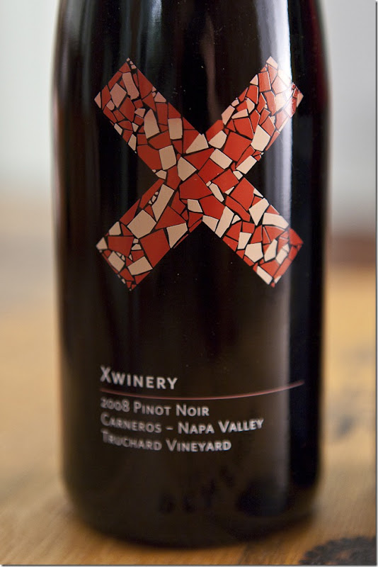 2008 Xwinery Carneros Napa Valley Truchard Vineyard Pinot Noir