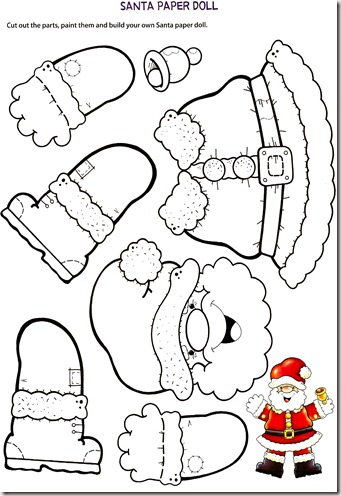 Teaching the little ones english santa paper doll hpqscan0018 spiritdancerdesigns Image collections