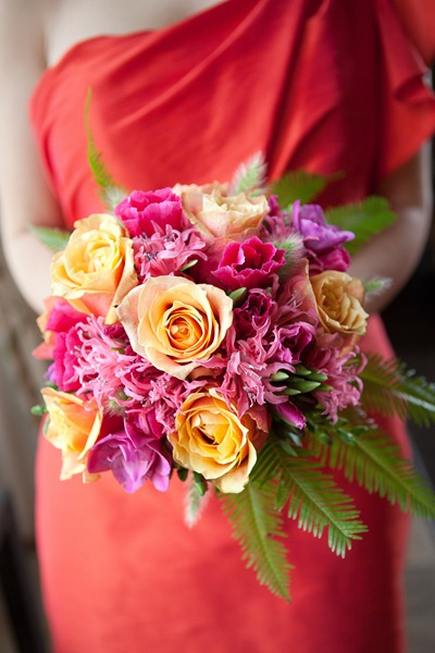 Bright Bouquet - Ideas in Bloom, Amie Fedora Photgraphy