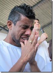 leonardo moura batismo
