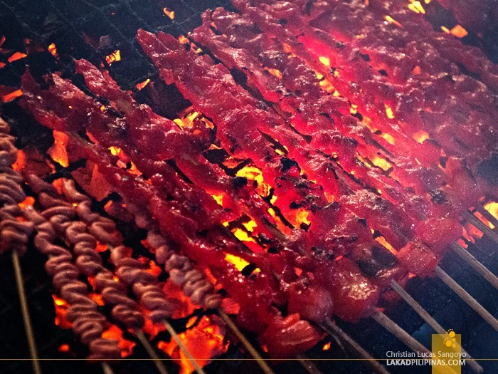 Barbecues for Dinner at Dipolog City