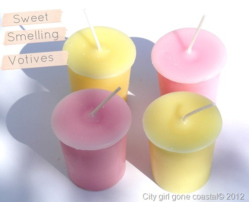 sweet smelling votives